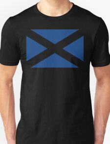 St. Andrew's Cross - Scottish Flag (design 2) Unisex T-Shirt