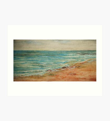 Malibu Ocean Art Print