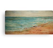 Malibu Ocean Canvas Print