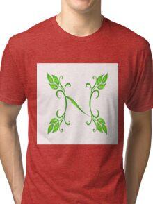 Letter - N Tri-blend T-Shirt