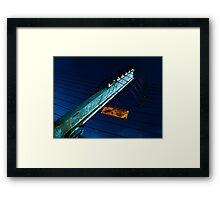 Electrofence Framed Print