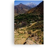 Berber Village Canvas Print
