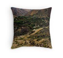 Berber Village Throw Pillow