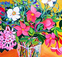Flowers of the day by marlene veronique holdsworth