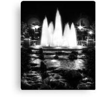 Oklahoma City Fountain  Canvas Print