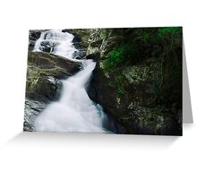Cedar Creek Waterfall Greeting Card