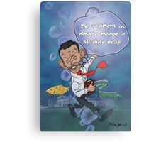 "Tony Abbott: The ""Sceptical"" Submariner Metal Print"