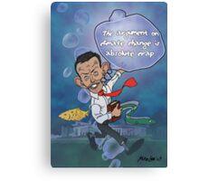 "Tony Abbott: The ""Sceptical"" Submariner Canvas Print"