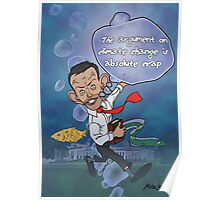 "Tony Abbott: The ""Sceptical"" Submariner Poster"