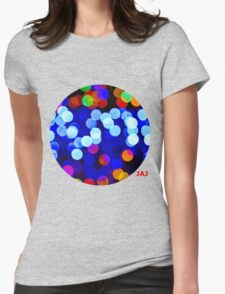 Colourful Confetti Womens Fitted T-Shirt