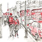 Red Objects in London - 2011 by Artistuk