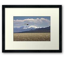 Spring Antelope Island Framed Print