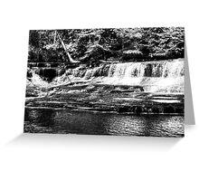 Quarry Park Falls Greeting Card