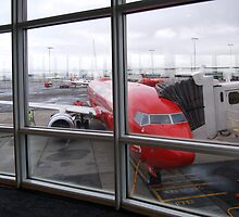 Airport Window by Eve Parry