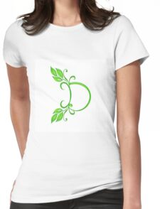 Letter D Womens Fitted T-Shirt