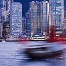 Junk, Hong Kong by Fran53