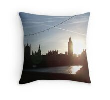 Big Ben from southern side Throw Pillow