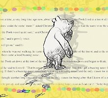Thinking Bear  by Renattaml