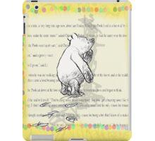 Thinking Bear  iPad Case/Skin