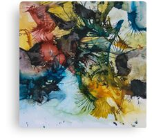Splattered with Color Canvas Print