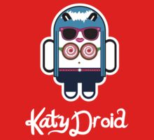 Katy Perry goes Google Android Style! One Piece - Short Sleeve