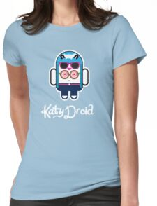 Katy Perry goes Google Android Style! Womens Fitted T-Shirt