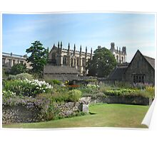 Oxford Cathedral Poster