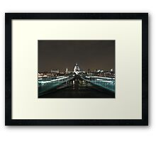 St. Paul's Cathedral from Millenium Bridge 2 Framed Print