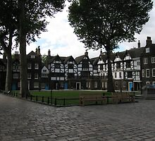 Old houses inside Tower of London by Andre090904