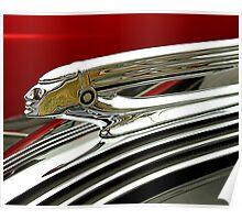 1937 Pontiac Hood Ornament Poster