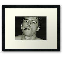 make mine a cuban..... Framed Print
