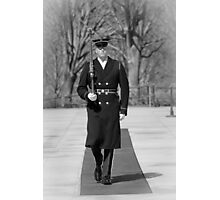 Tomb Guard Sentinel Photographic Print