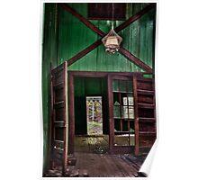 Green Door in Smokies Poster