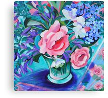 Rose still life Canvas Print
