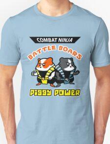 Combat Ninja Battle Boars T-Shirt