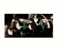 DANCERS # 265 Art Print
