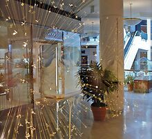 Sparkling Reflections In The Glass - Pioneer Mall - Portland Oregon by Jack McCabe