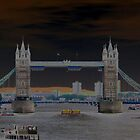 London Bridge-solarized by Darrell-photos