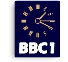 BBC Night Closedown Canvas Print