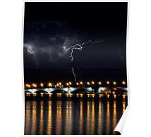 Stormy Night Sky 3 Poster