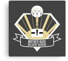 Mother Base Delivery Service Canvas Print