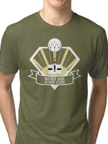 Mother Base Delivery Service Tri-blend T-Shirt