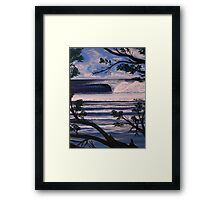 PLAYA NEGRA ,COSTA RICA Framed Print