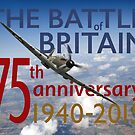 Battle of Britain poster colour version by Gary Eason