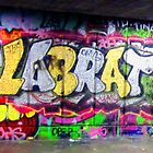 London graffiti by Darrell-photos