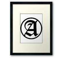 Ancientheart OG Framed Print