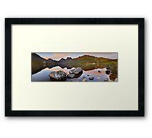Dove Lake Dawn, Cradle Mountain, Tasmania, Australia Framed Print