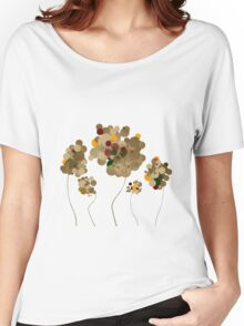 Abstract Trees Women's Relaxed Fit T-Shirt