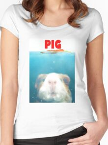 Sea Pig Women's Fitted Scoop T-Shirt