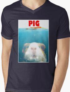 Sea Pig Mens V-Neck T-Shirt